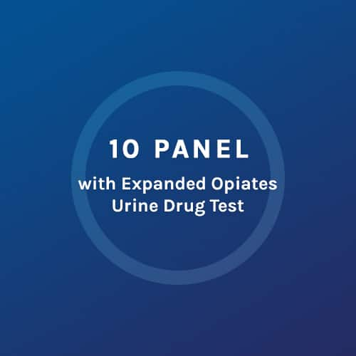 10 Panel - Expanded Opiates Urine Drug Test - Colorado Mobile
