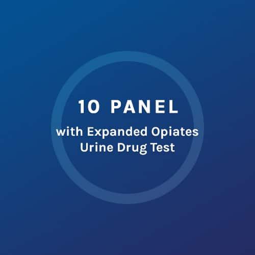 10 Panel - Expanded Opiates Urine Drug Test - Colorado Mobile
