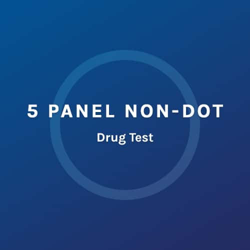 5 Panel Non Dot - Drug Test - Colorado Mobile