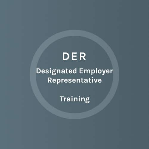 DER - Designated Employer Represantive - Training - Colorado Mobile