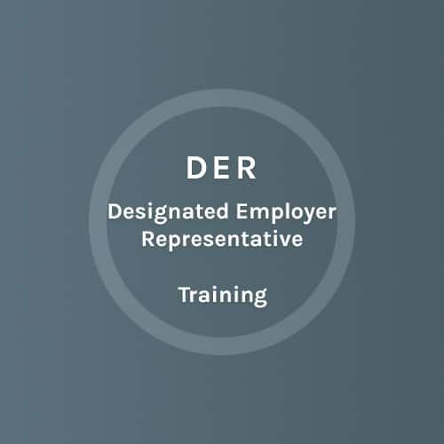 DER - Designated Employer Represantive - Training - Colorado Mobile